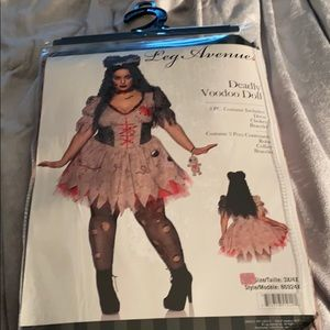 Leg avenue deadly voodoo doll costume